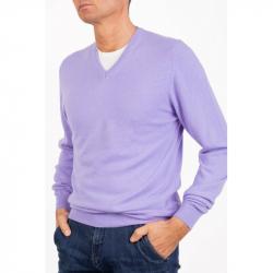 Sweater V Neck Men Cashmere...