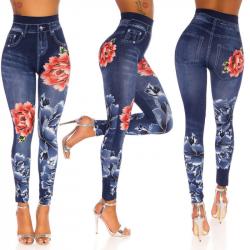 Leggings Floreale OneSize